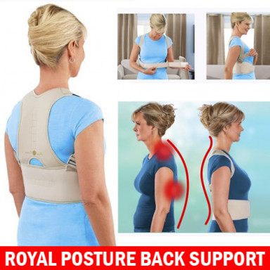Royal Posture Back Support Belt - Energizing Posture Support