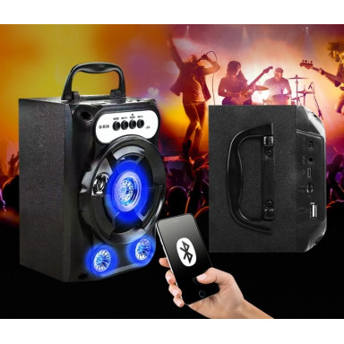 Bluetooth Portable Speaker With Aux | Radio | USB | Memory Card Fuction