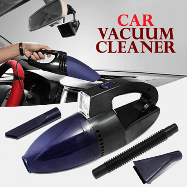CAR HANDY VACUUM CLEANER WITH BUILT-IN LED LIGHT