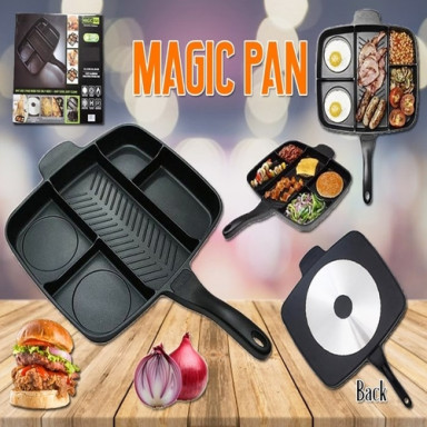 5 IN 1 NON STICK MAGIC PAN
